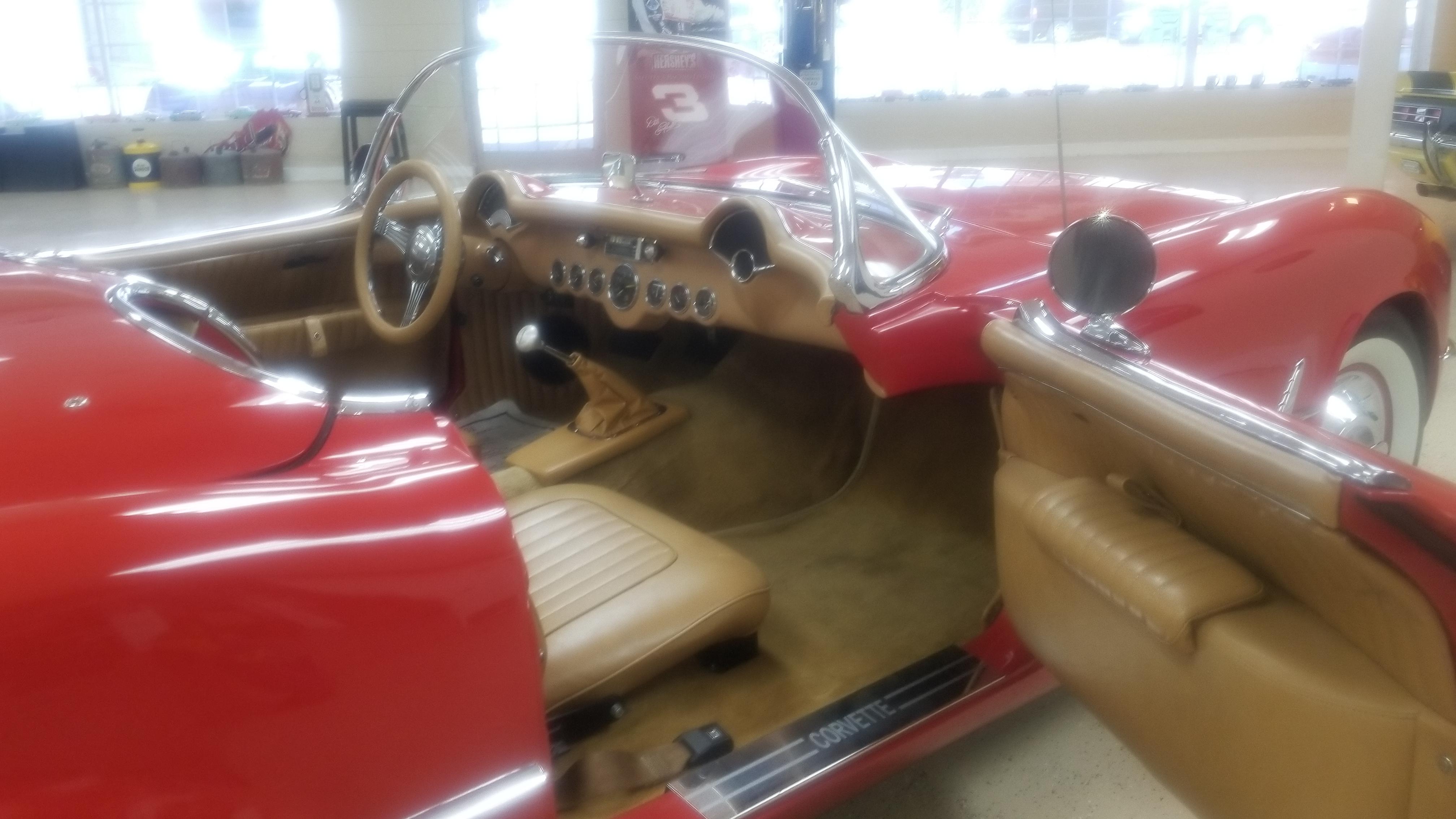 Chevrolet 350, 1955 Corvette, Little Red Corvette, American Classic, Southern Classic Car, Southern Classic Cars, southernclassiccar.com, 1955 corvette replica for sale, for sale